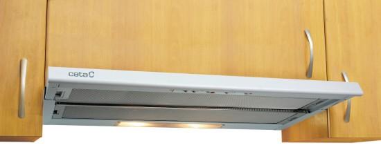 CATA TF 5290 - bílá výsuvná digestoř