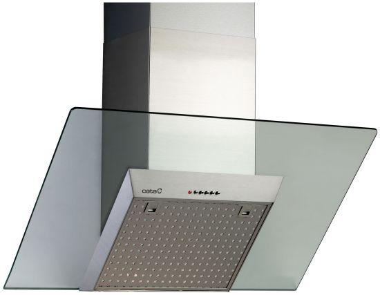 CATA VENERE GLASS VL3 900 - nerez/sklo komínová digestoř ke zdi