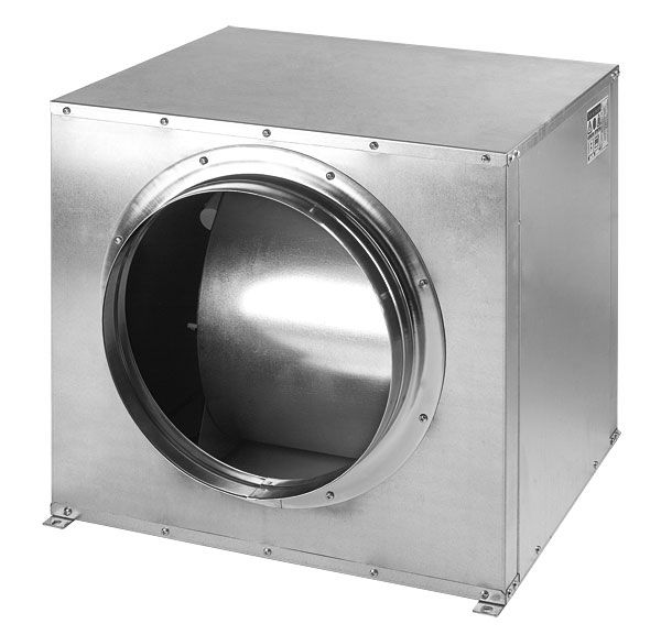 CVT-380/380-N CENTRIBOX - tichý potrubní ventilátor