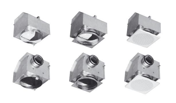 EB KIT 100 S - malý radiální ventilátor
