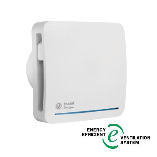 ECOAIR DESIGN ECOWATT S - malý radiální ventilátor