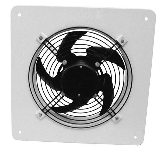 EDAV 200 4Q - axiální nástěnný ventilátor