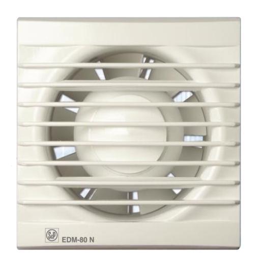 EDM 80 N - malý axiální ventilátor
