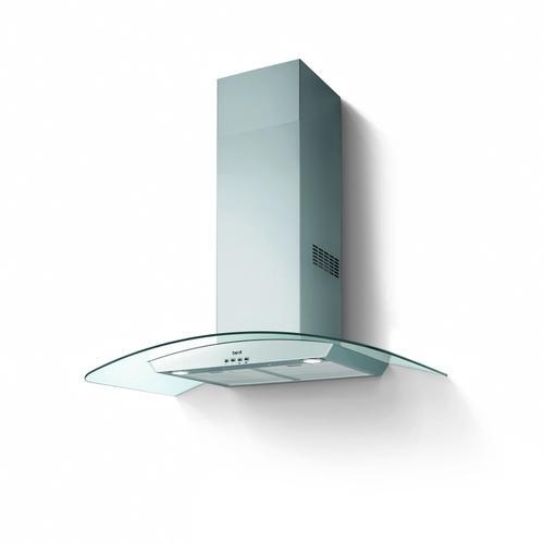 Broan Francavilla 90 - nerez/sklo komínová digestoř ke zdi