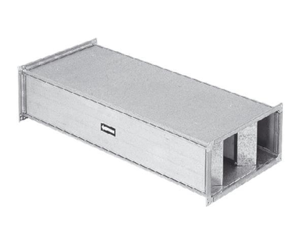 IAA 450 - tlumič hluku do čtyřhranného potrubí 1000x500