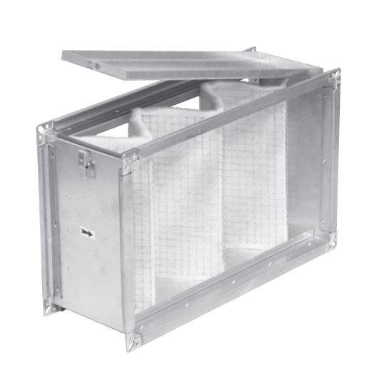 IFLK 450/100-50 - filtrační kazeta