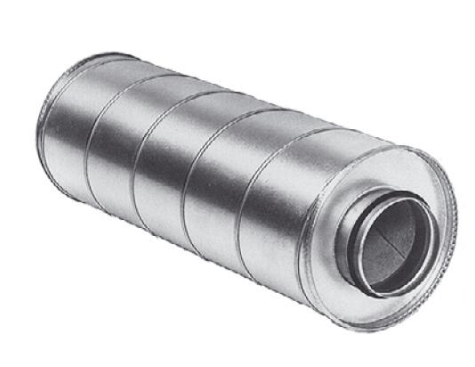 MAA 450/900 mm - tlumič hluku do kruhového potrubí