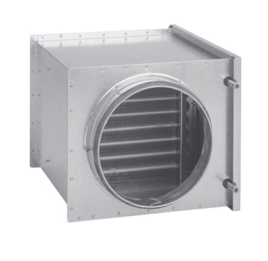 MBW 500 - vodní ohřívač vzduchu