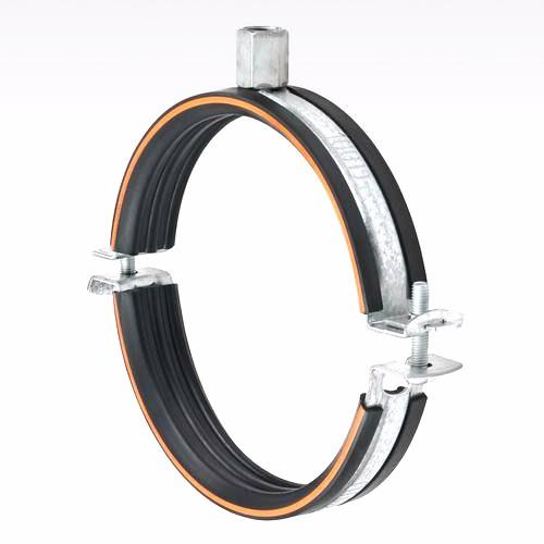 Objímka s gumou 450 mm pro vzt potrubí