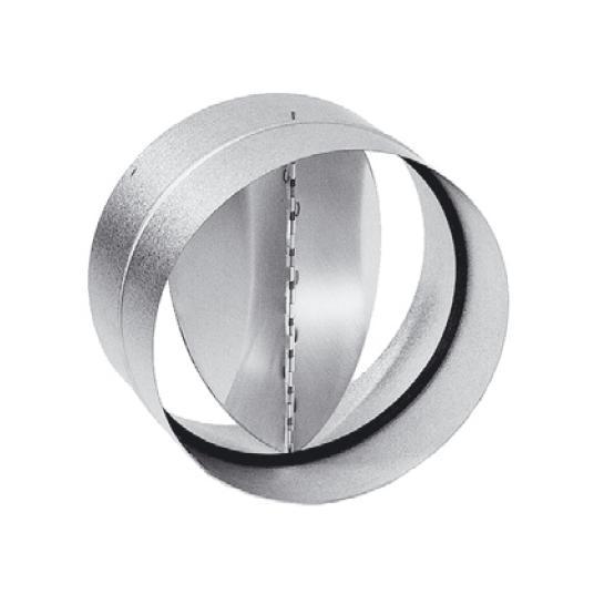 RSK 450 - kovová zpětná klapka do kruhového potrubí