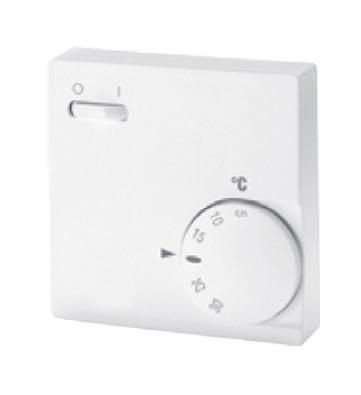 RTR-E 6763 - prostorový termostat s vypínačem