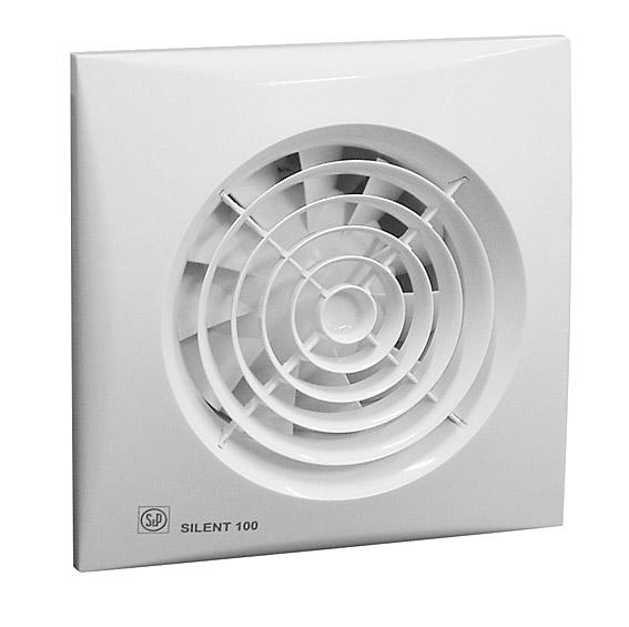SILENT 100 CZ - tichý axiální ventilátor