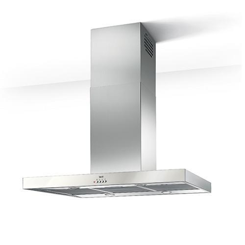 BEST TAVOLARA INOX IS181 - nerez/sklo komínová digestoř rohová