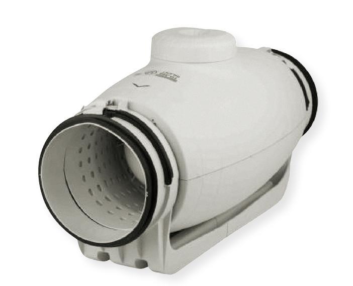 TD Silent 350/125 T - tichý potrubní ventilátor s doběhem