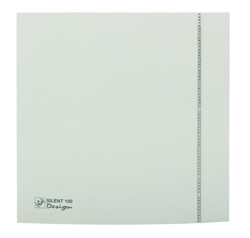 SILENT 100 DESIGN SWAROVSKY WHITE CZ